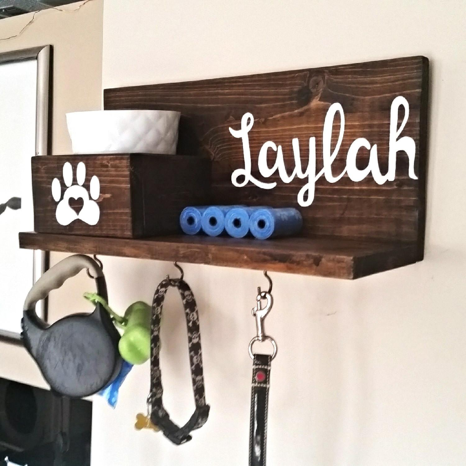 Dog Leash Holder Collar Custom