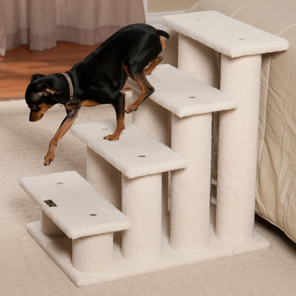 Dog Stairs Bed Model Simple Diy