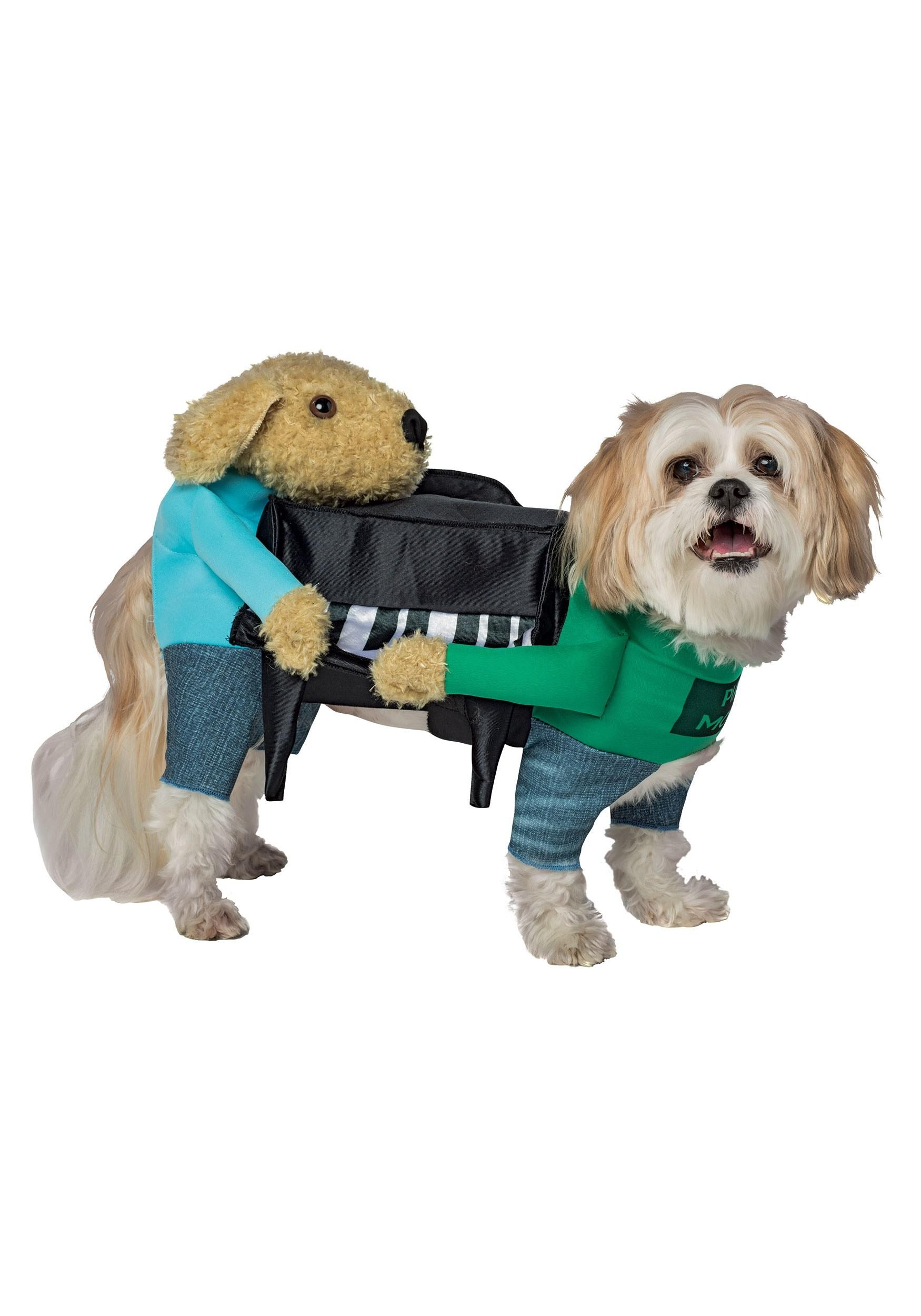 Dogs Carrying Piano Costume Pets