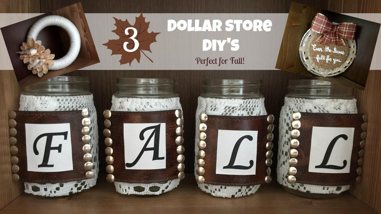 Dollar Store Diy Crafts Perfect Fall