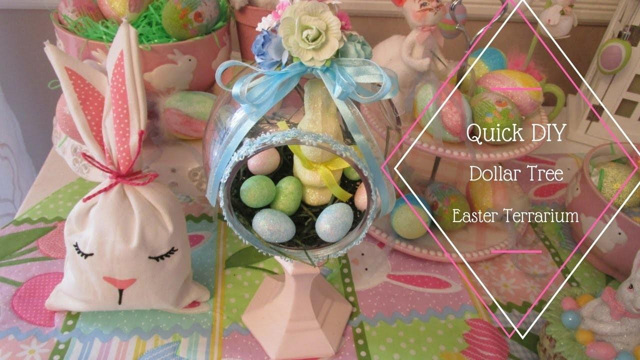 Dollar Tree Diy Easter Terrarium
