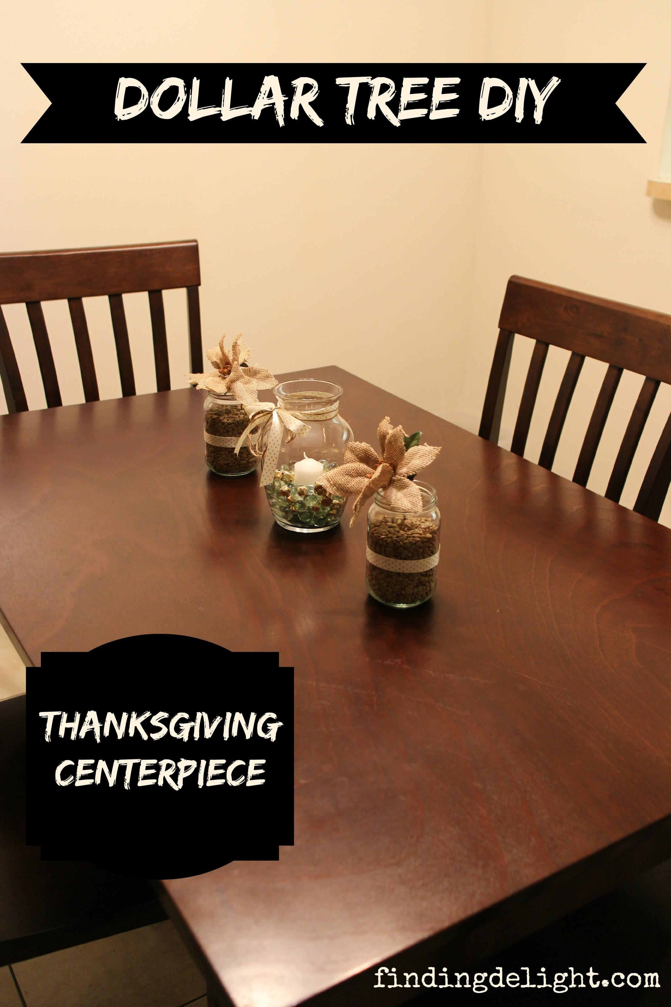 Dollar Tree Diy Simple Thanksgiving Centerpiece Finding