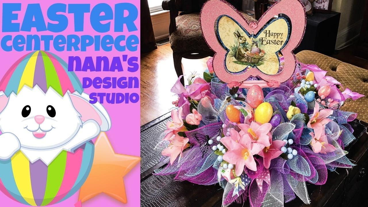 Dollar Tree Easter Centerpiece Wreath Yourself Save