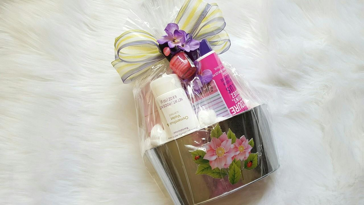 Dollar Tree Gift Basket Diy Idea Mother Day