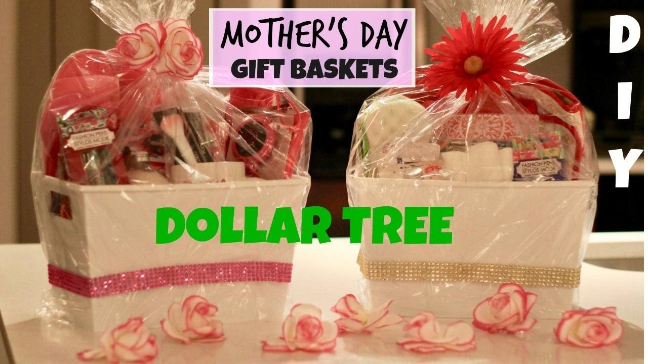 Dollar Tree Mother Day Gift Baskets Diy Easy