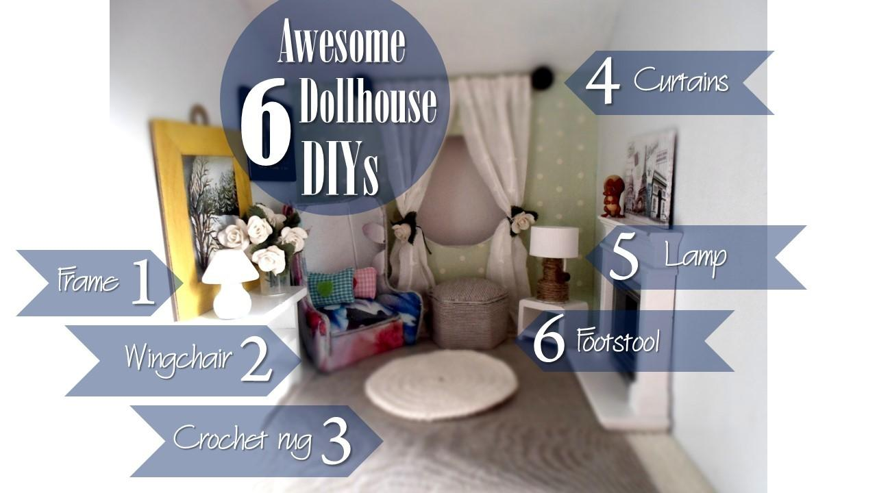 Dollhouse Diy Crafts
