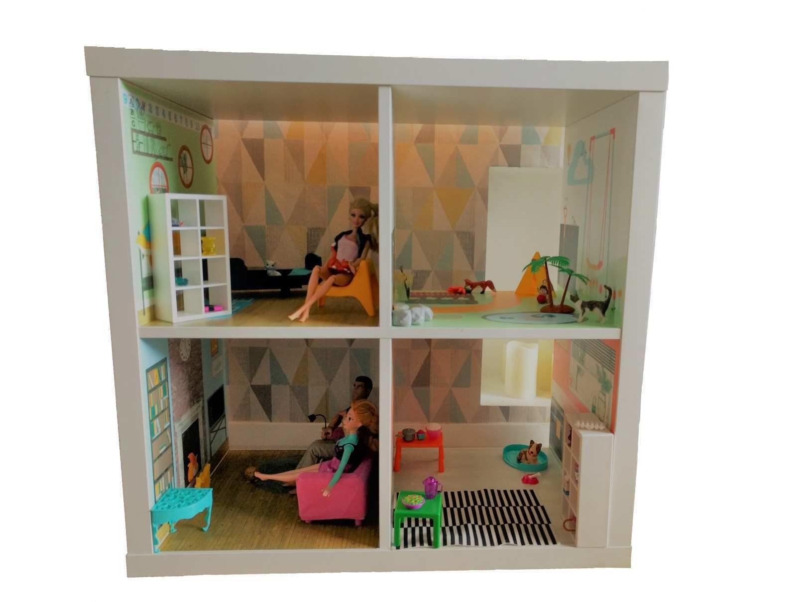 Dolls House Bedroom Garden Lounge Kitchen Furniture
