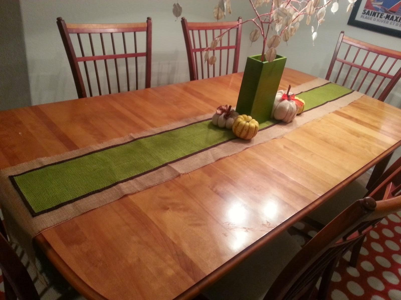 Domestikated101 Diy Sew Fall Table Runner