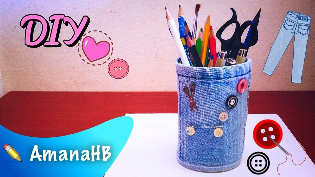 Don Throw Your Old Jeans Diy Make Own Pencil