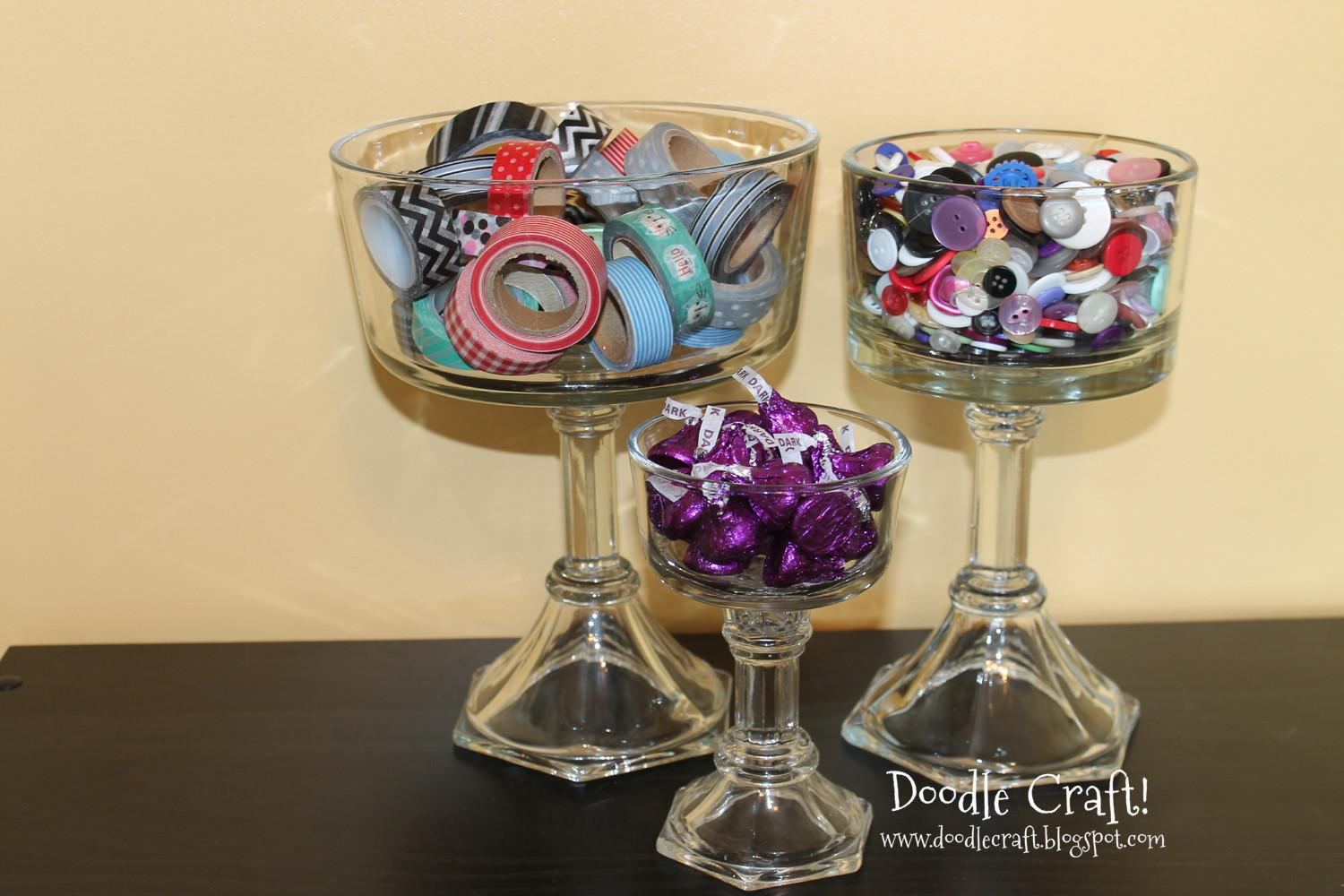 Doodlecraft Diy Candy Trifle Dishes