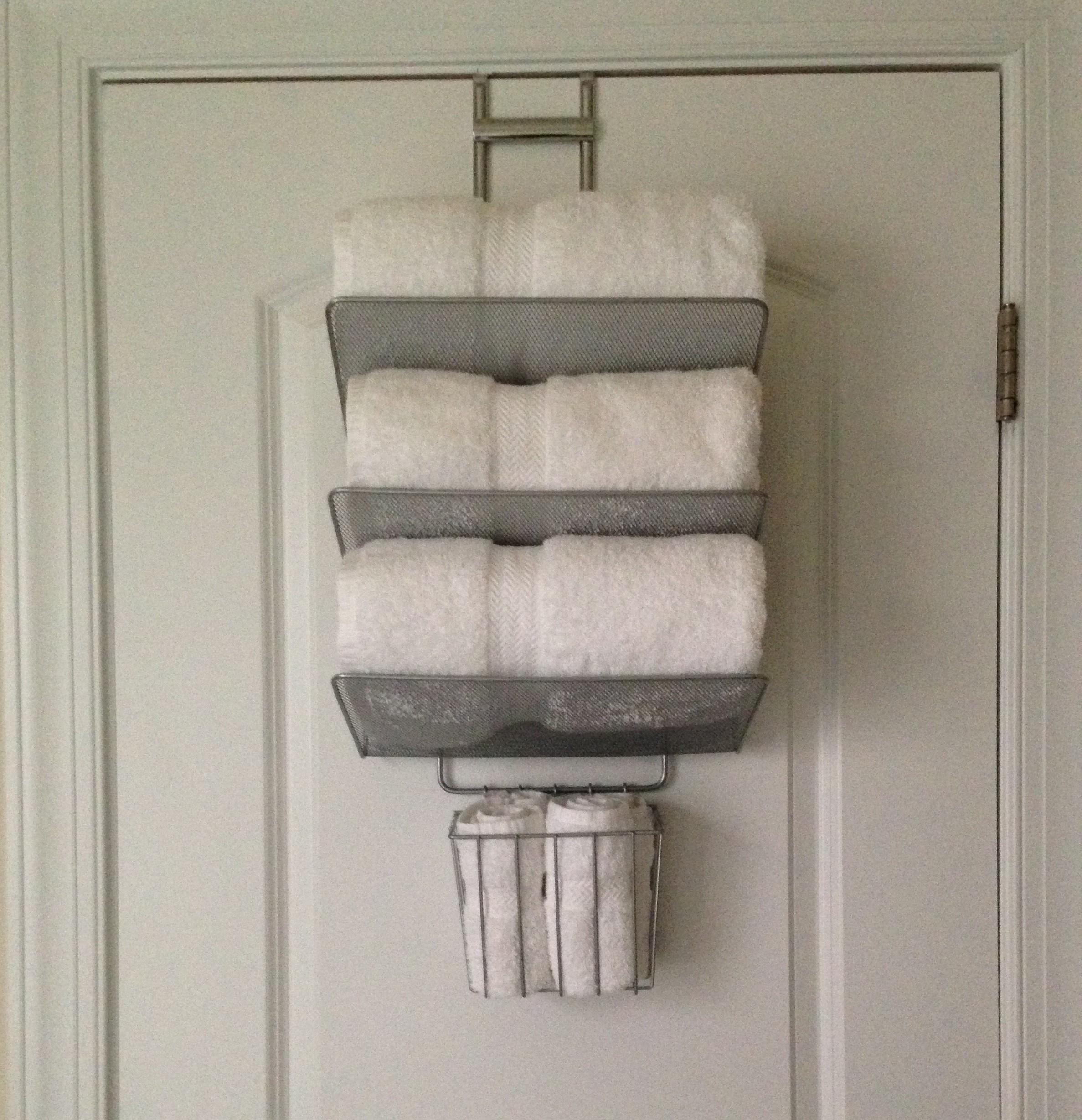 Door Towel Bath Rack Container Store