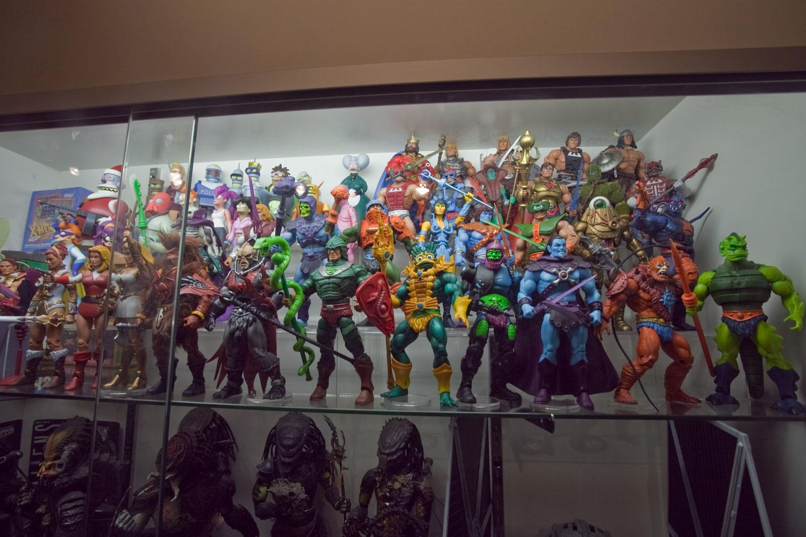 Dork Chris Toy Collection