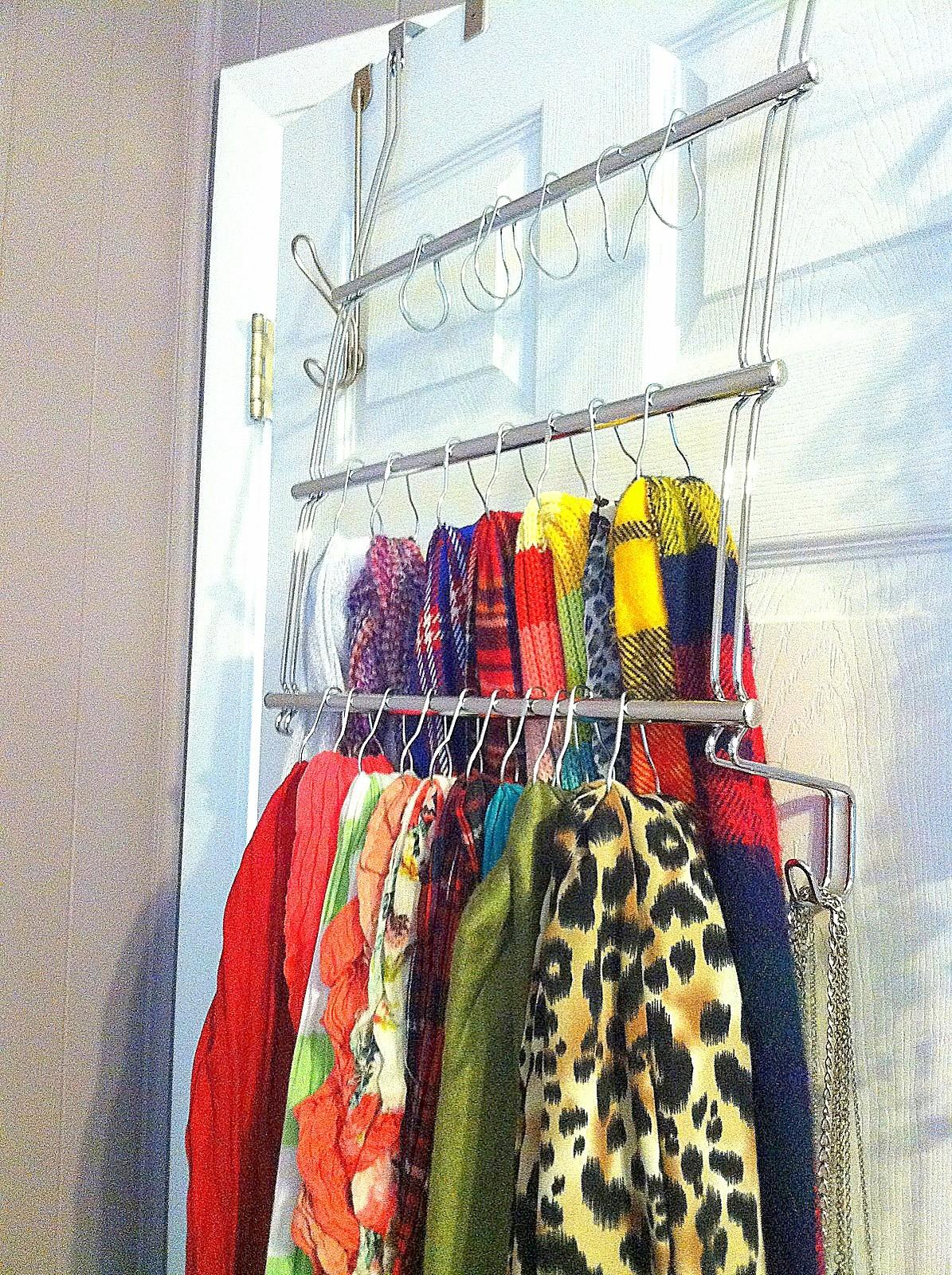 Downtime Upcycle Scarf Holder