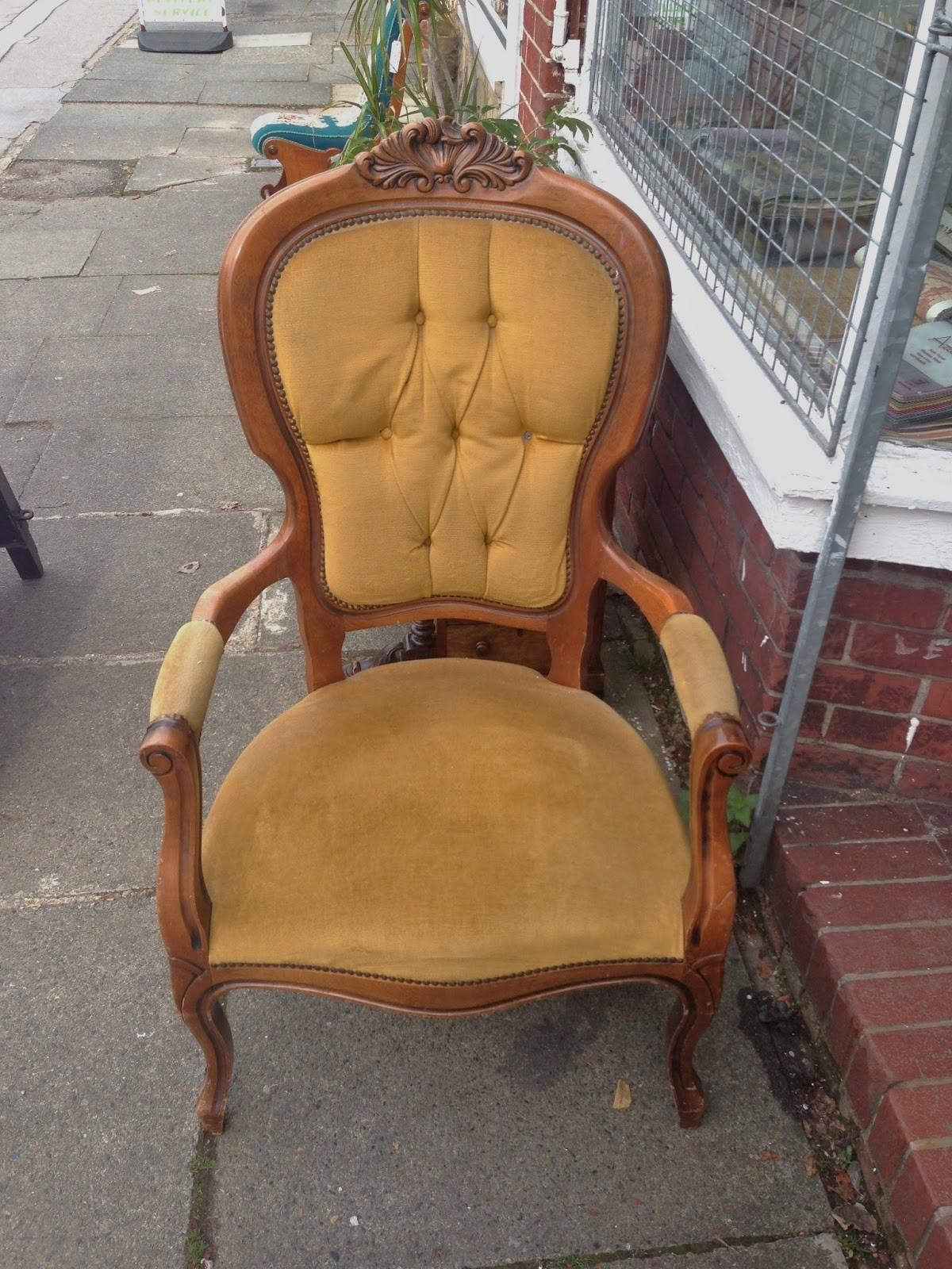 Doyounoah French Louis Chair Reupholster