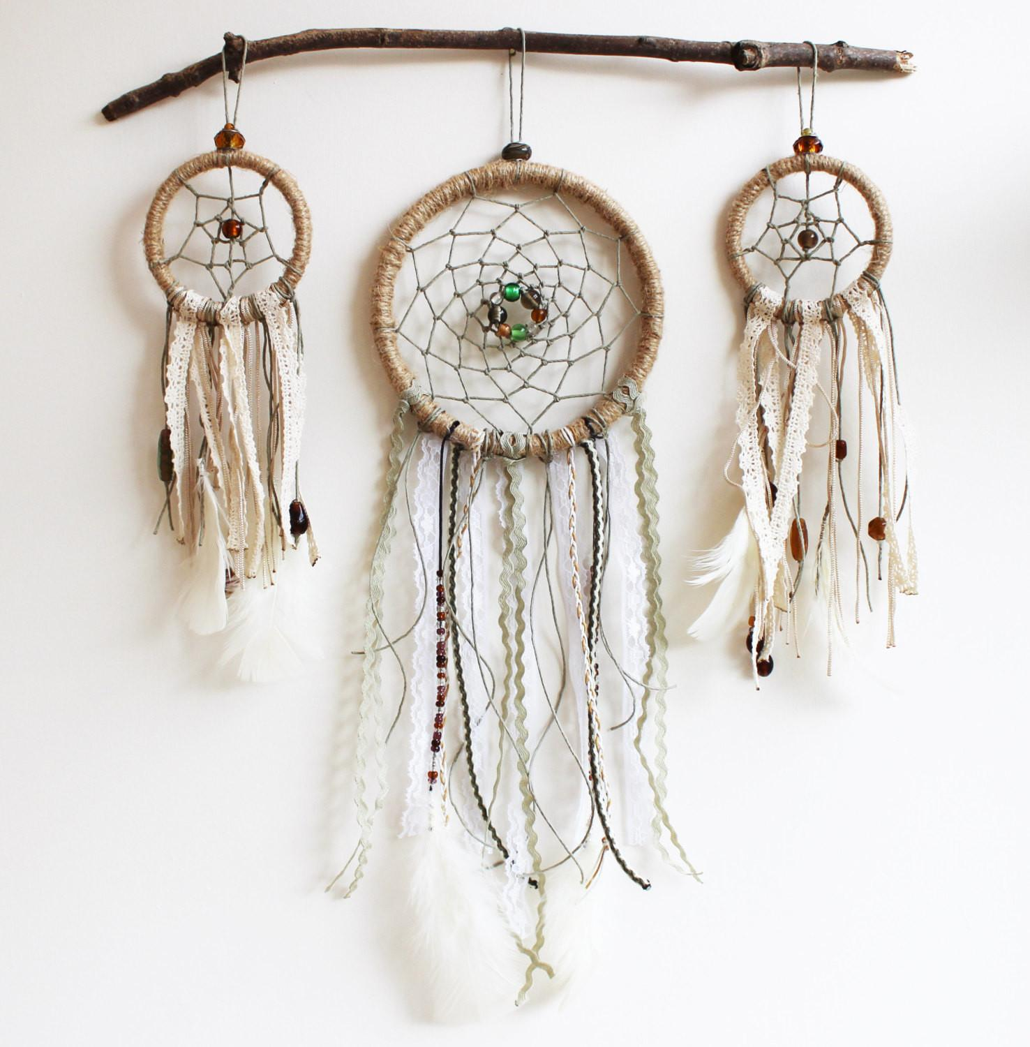 Dream Catcher Wall Hanging Completed Makingthingshappen