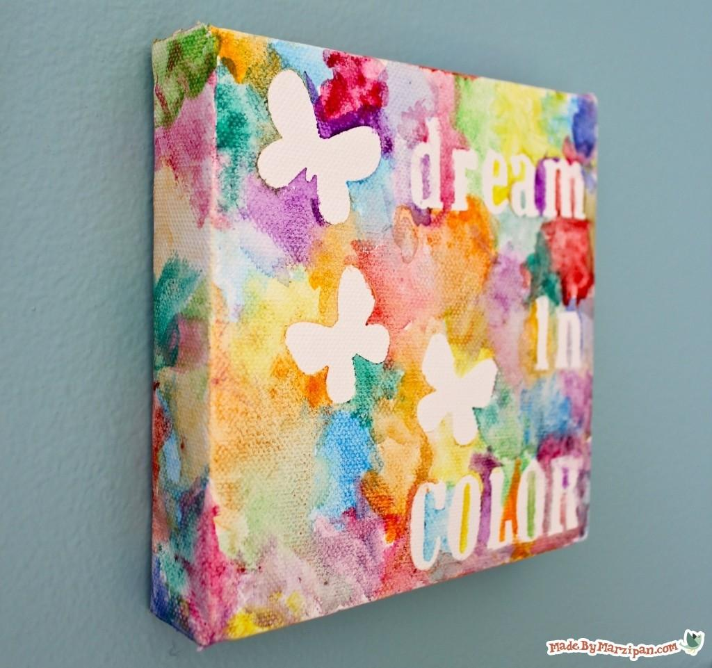 Dream Color Canvas Made Marzipan