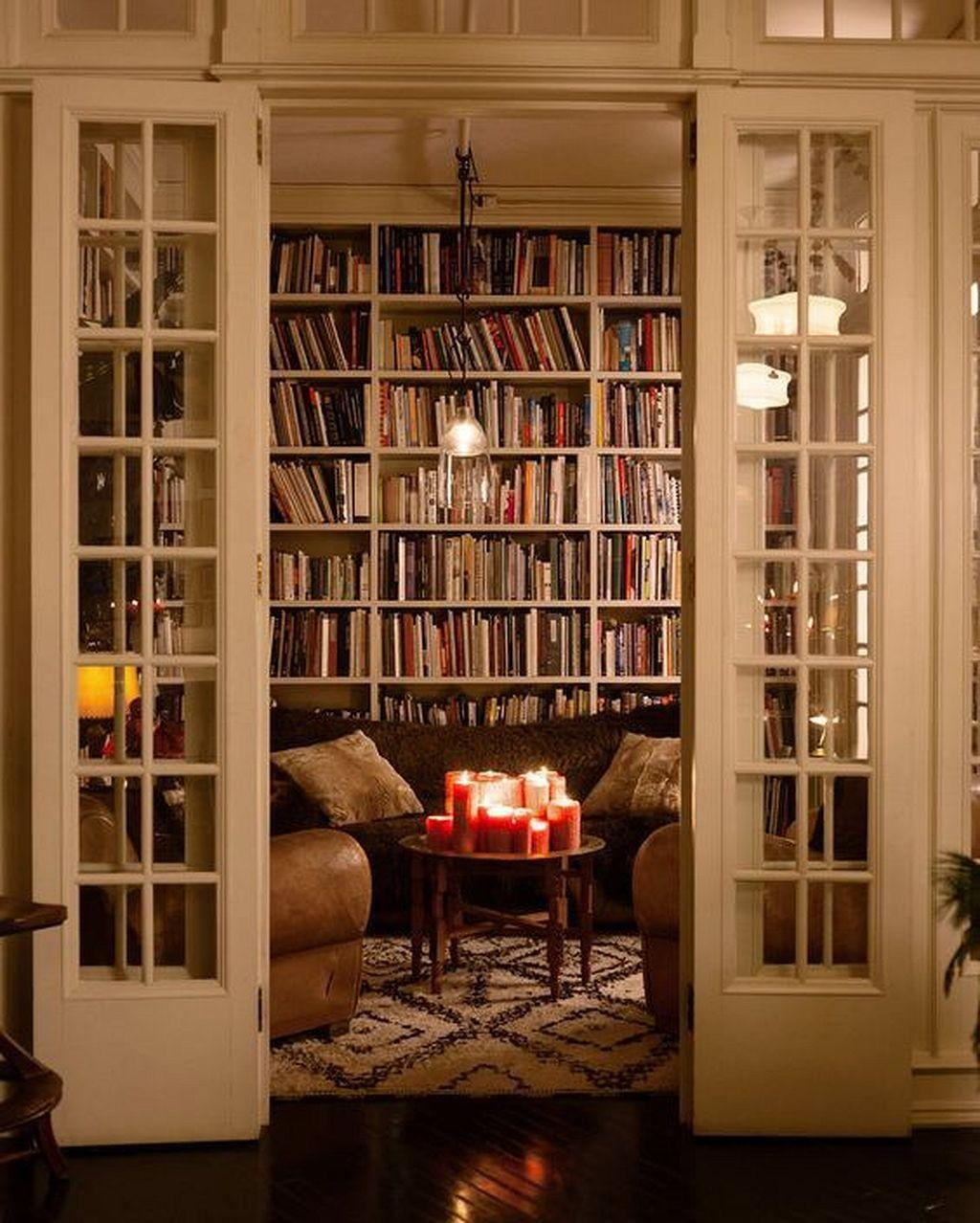 Dream Home Library Design Ideas