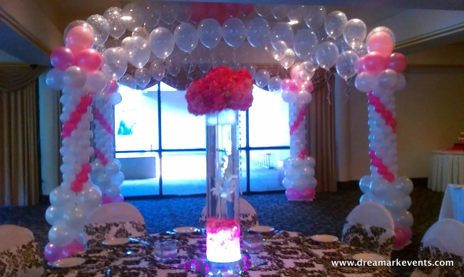 Dreamark Events Blog Baby Shower Decor Balloon Arch Canopy