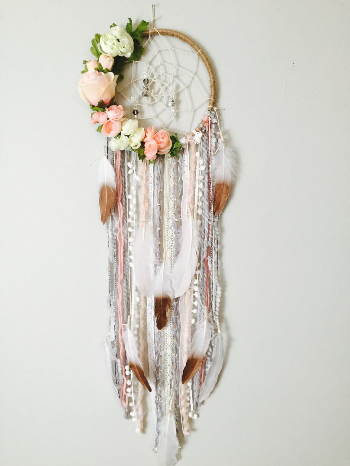 Dreamcatcher Boho Dreamcatchers Flower Modern