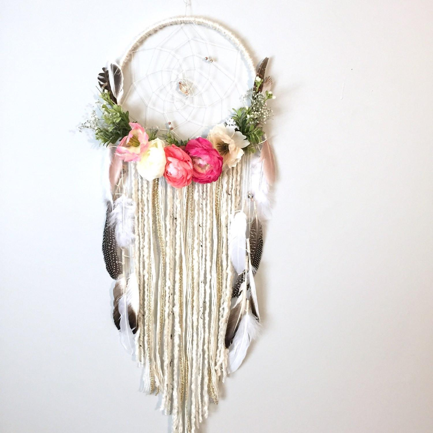 Dreamcatcher Boho Flower Modern