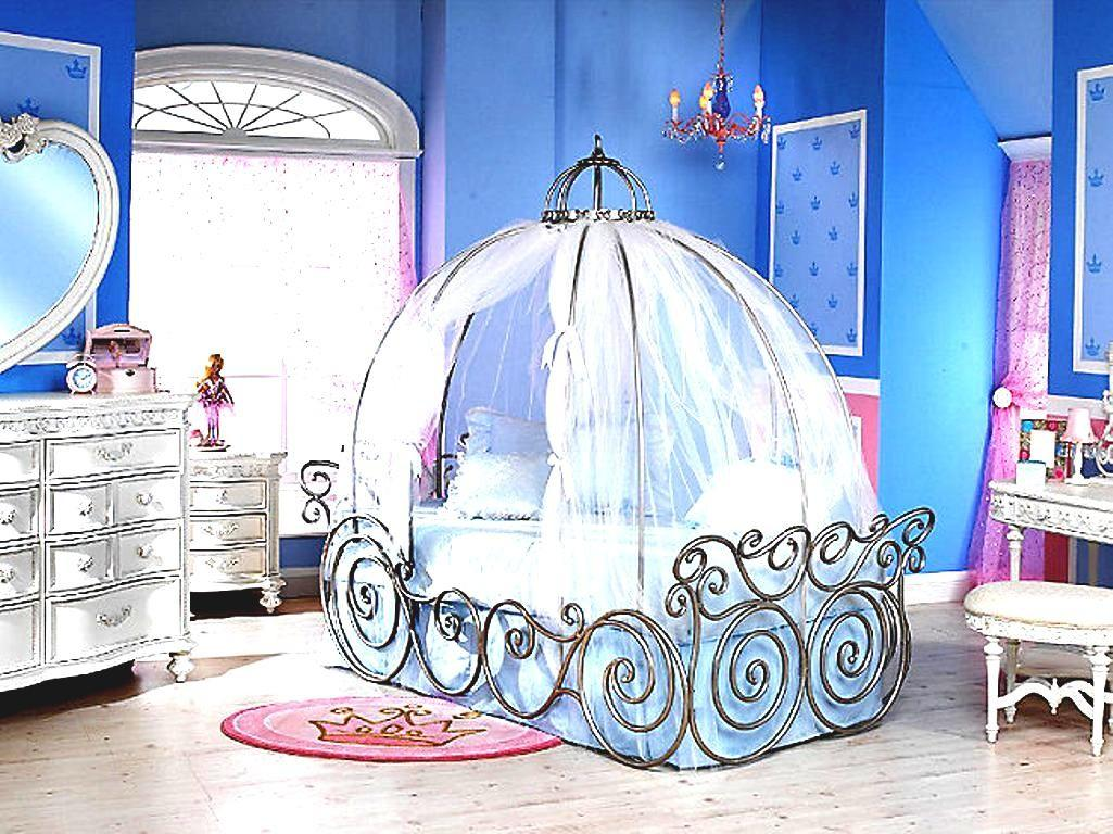 Dreamy Cinderella Carriage Bed Designs Girls Rooms