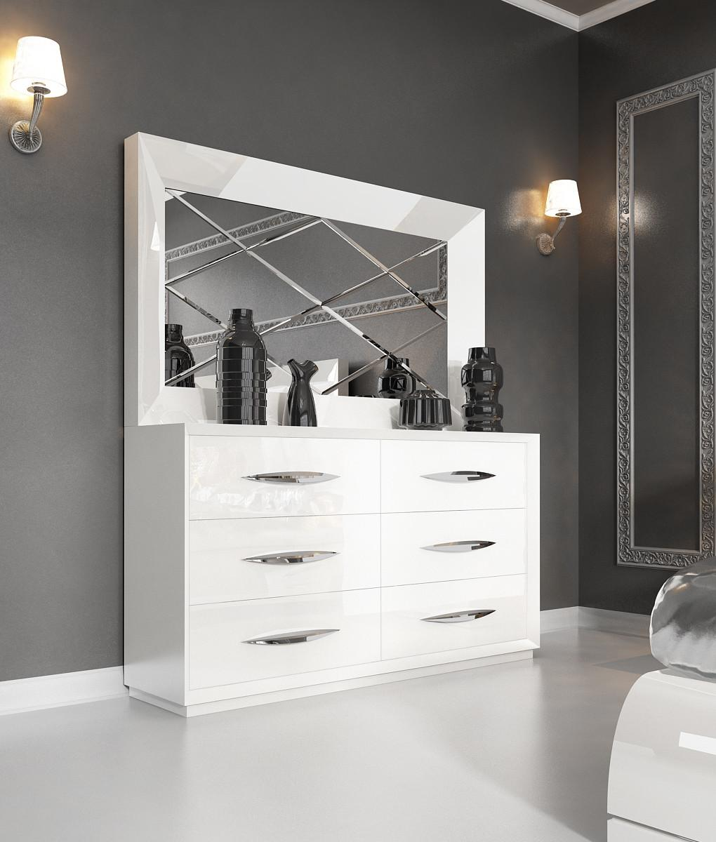 Dressers Astonishing White Modern Design