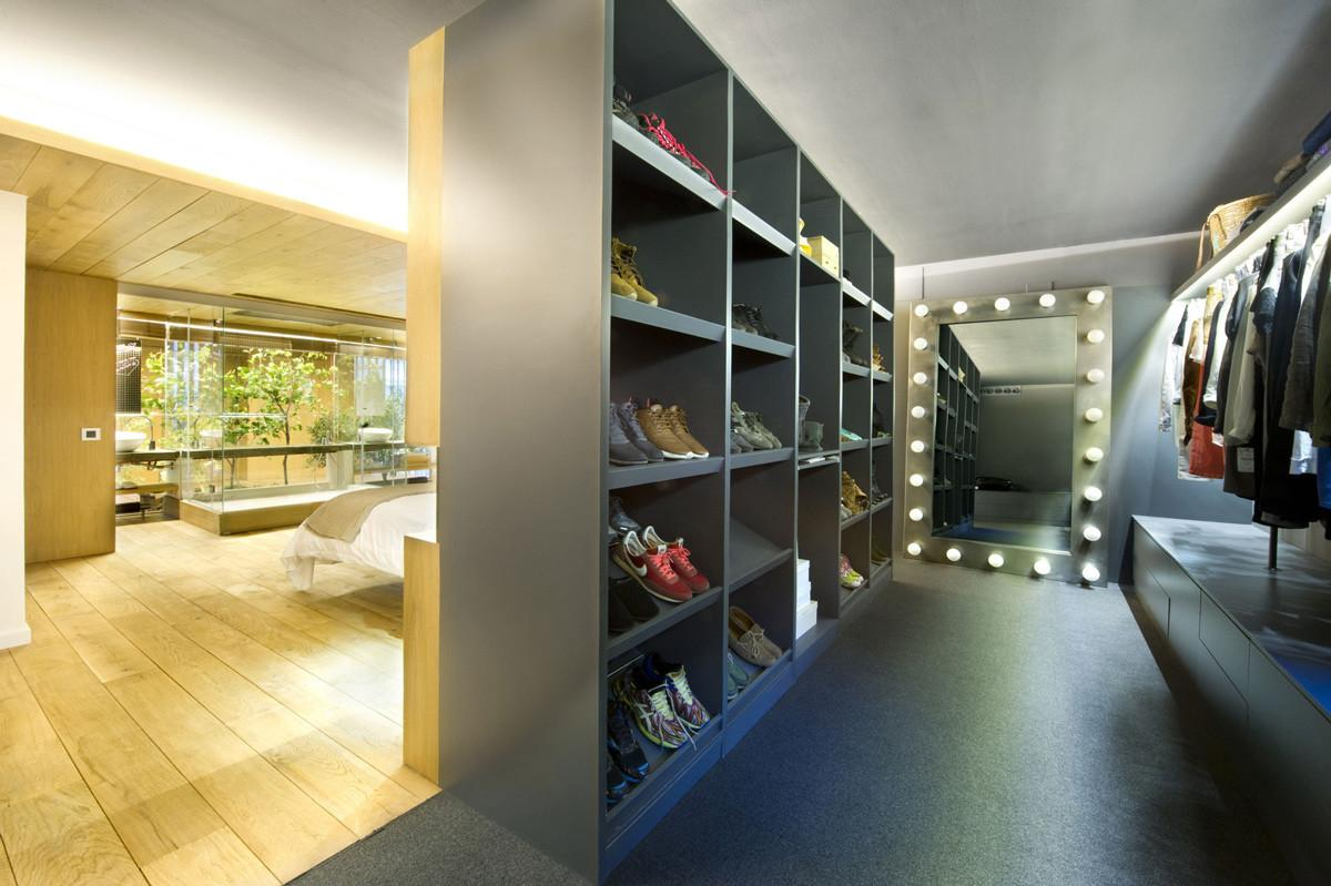 Dressing Room Loft Style Home Terrassa Spain