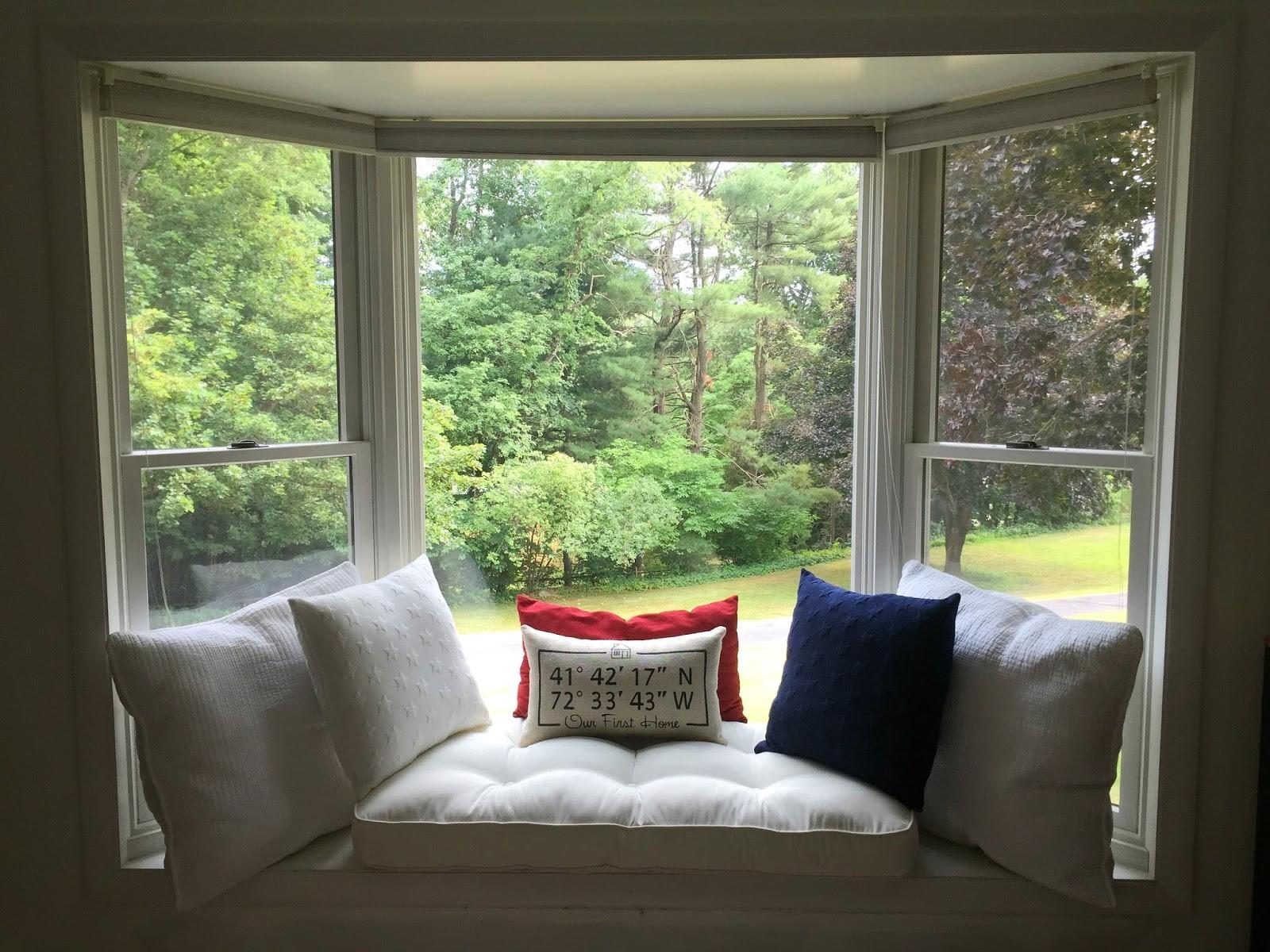 Drew Danielle Design Create Comfy Bay Window Seat