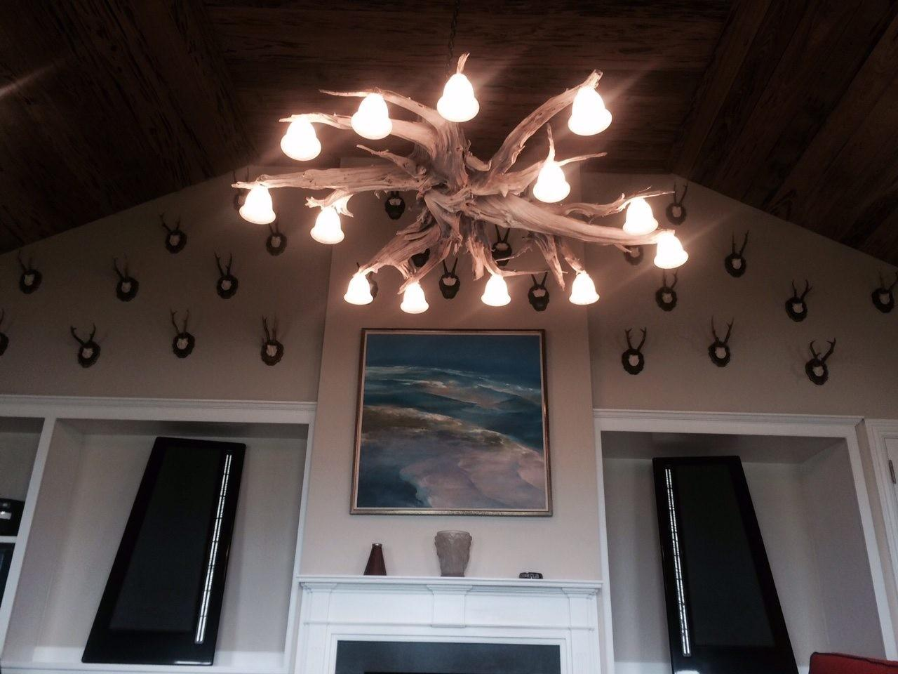 Driftwood Projects Chandelier