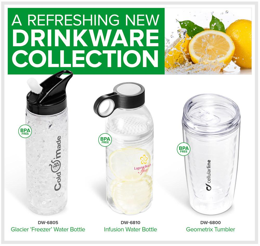 Drinkware Collection Branded Promotional Item
