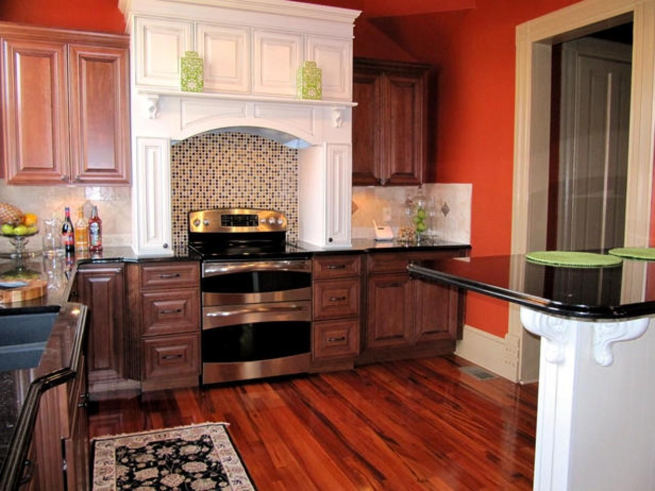 Dual Color Kitchen Cabinets Two Tone Ideas