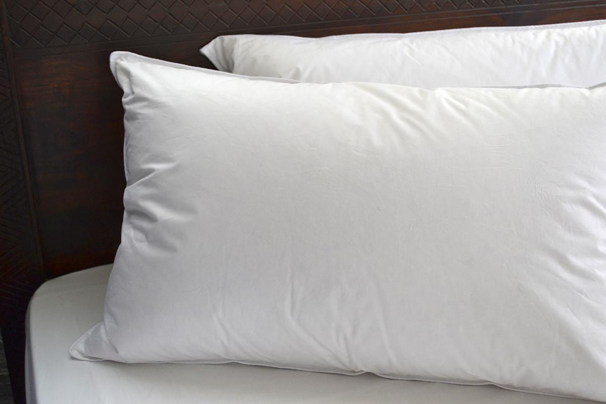 Duck Goose Down Pillows Natural Bed Company