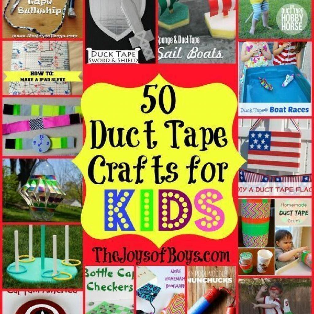 Duct Tape Crafts Kids Easy