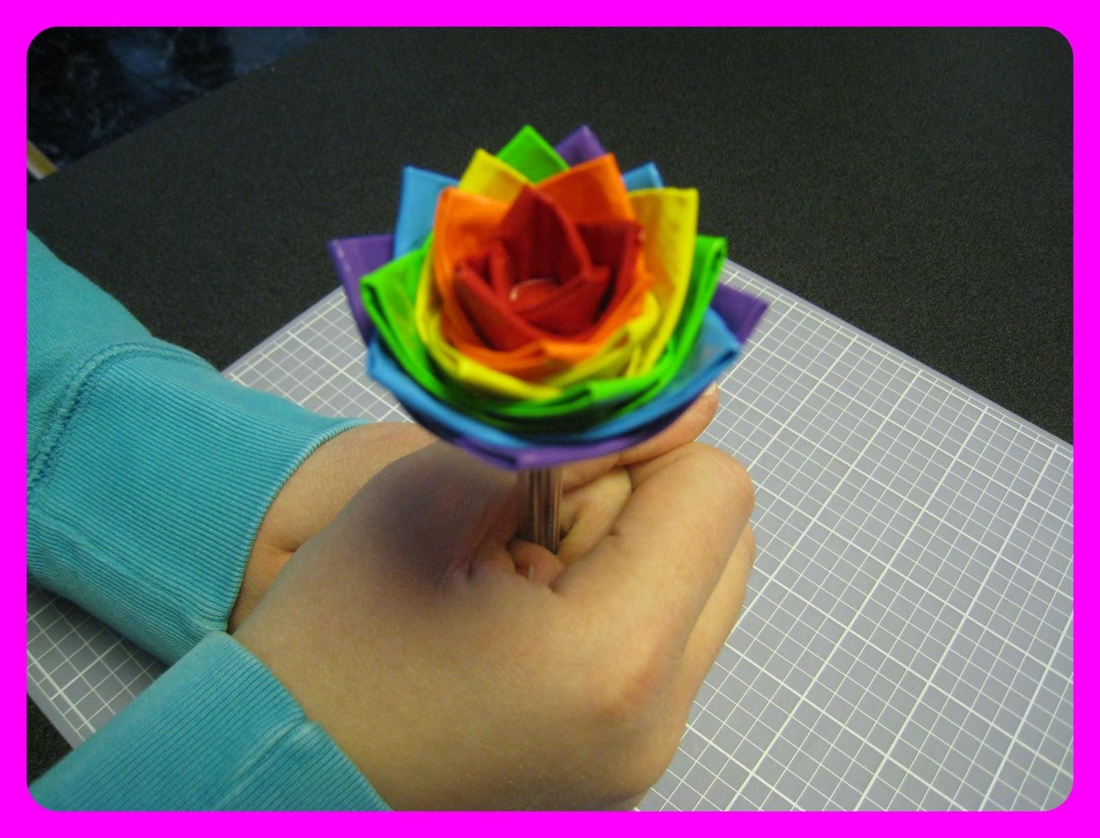 Duct Tape Flowers Pens