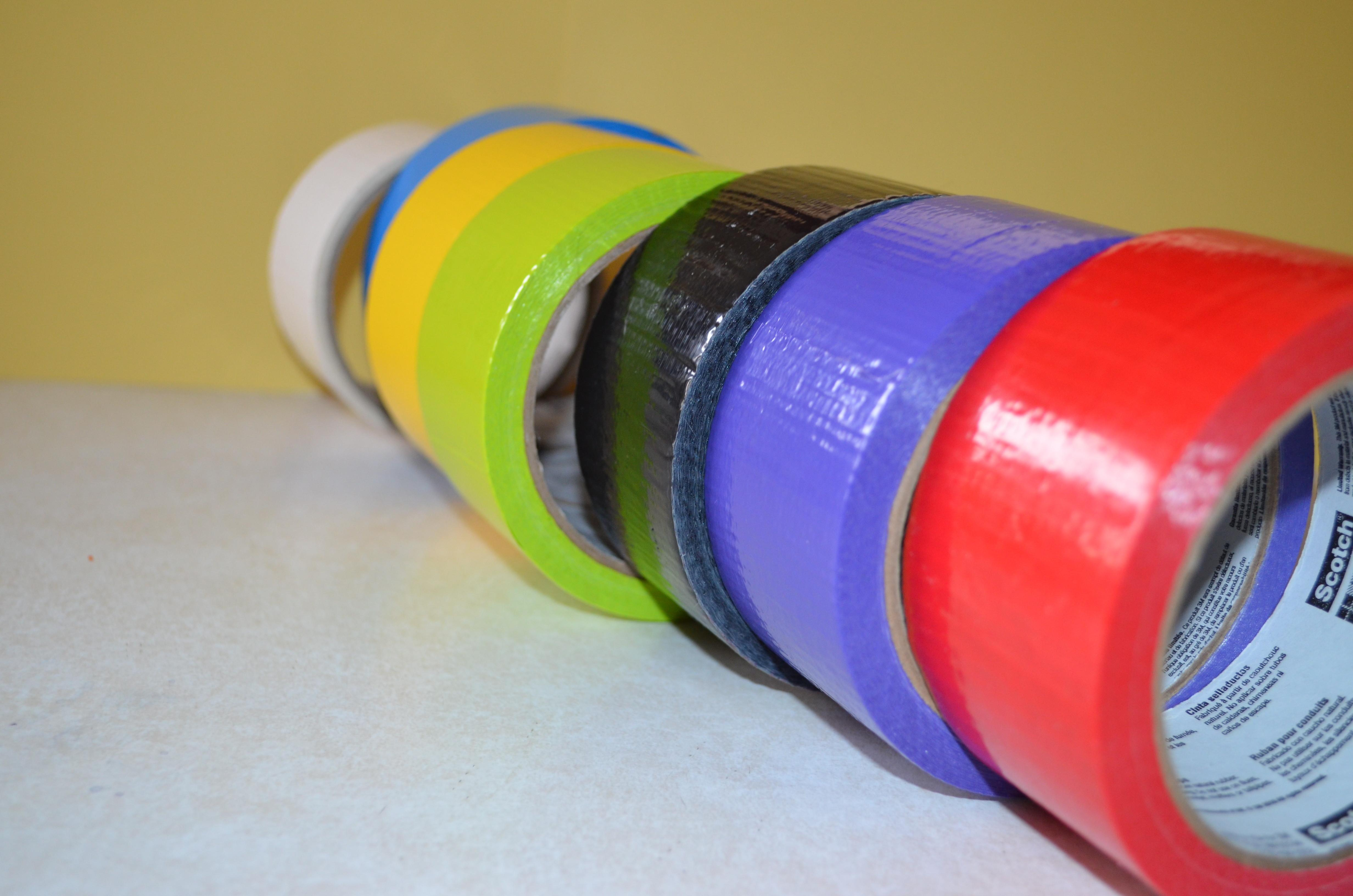 Duct Tape Kids Crafts Colorful Box Masks Mom Forward