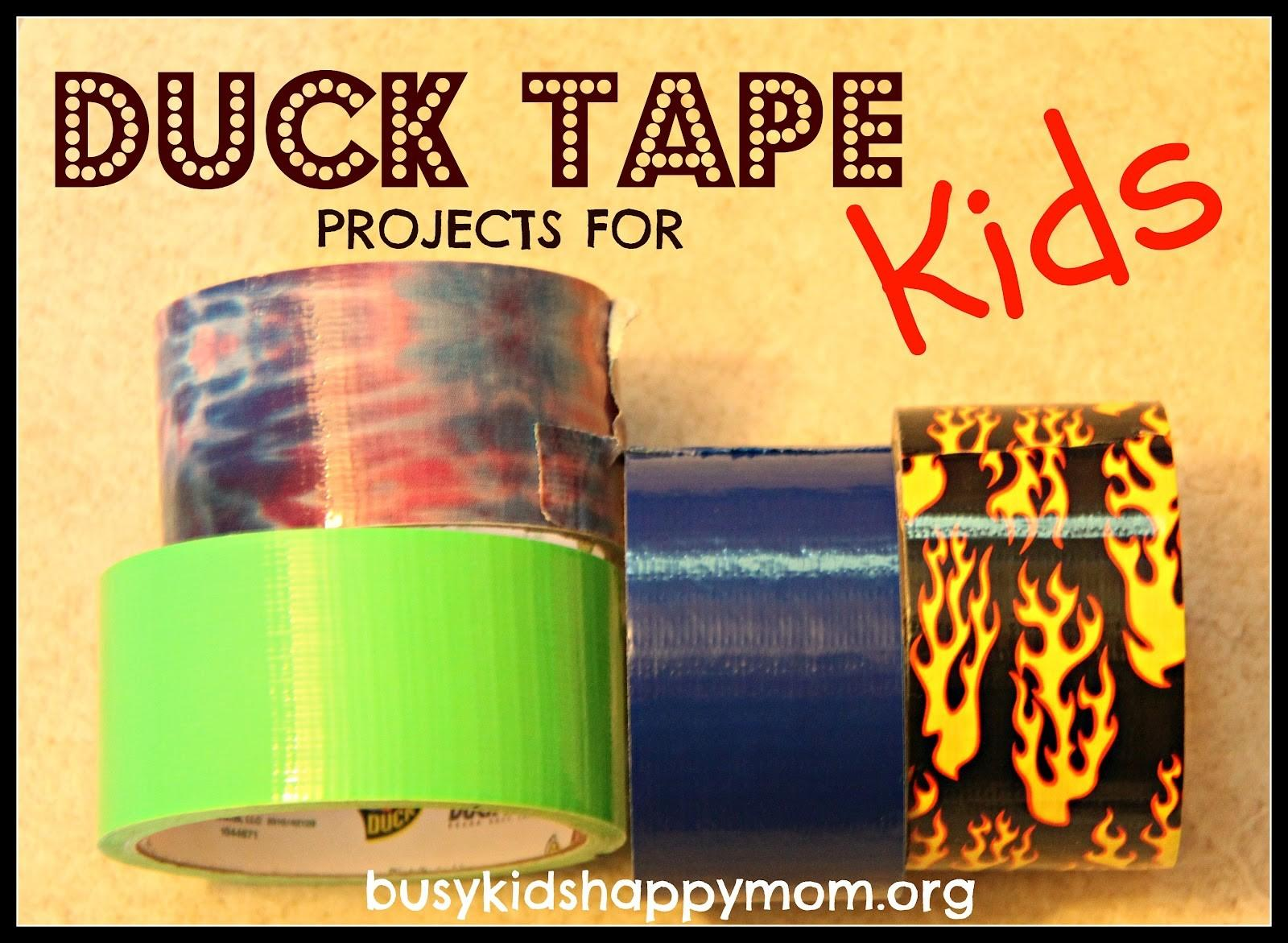 Duct Tape Projects Kids