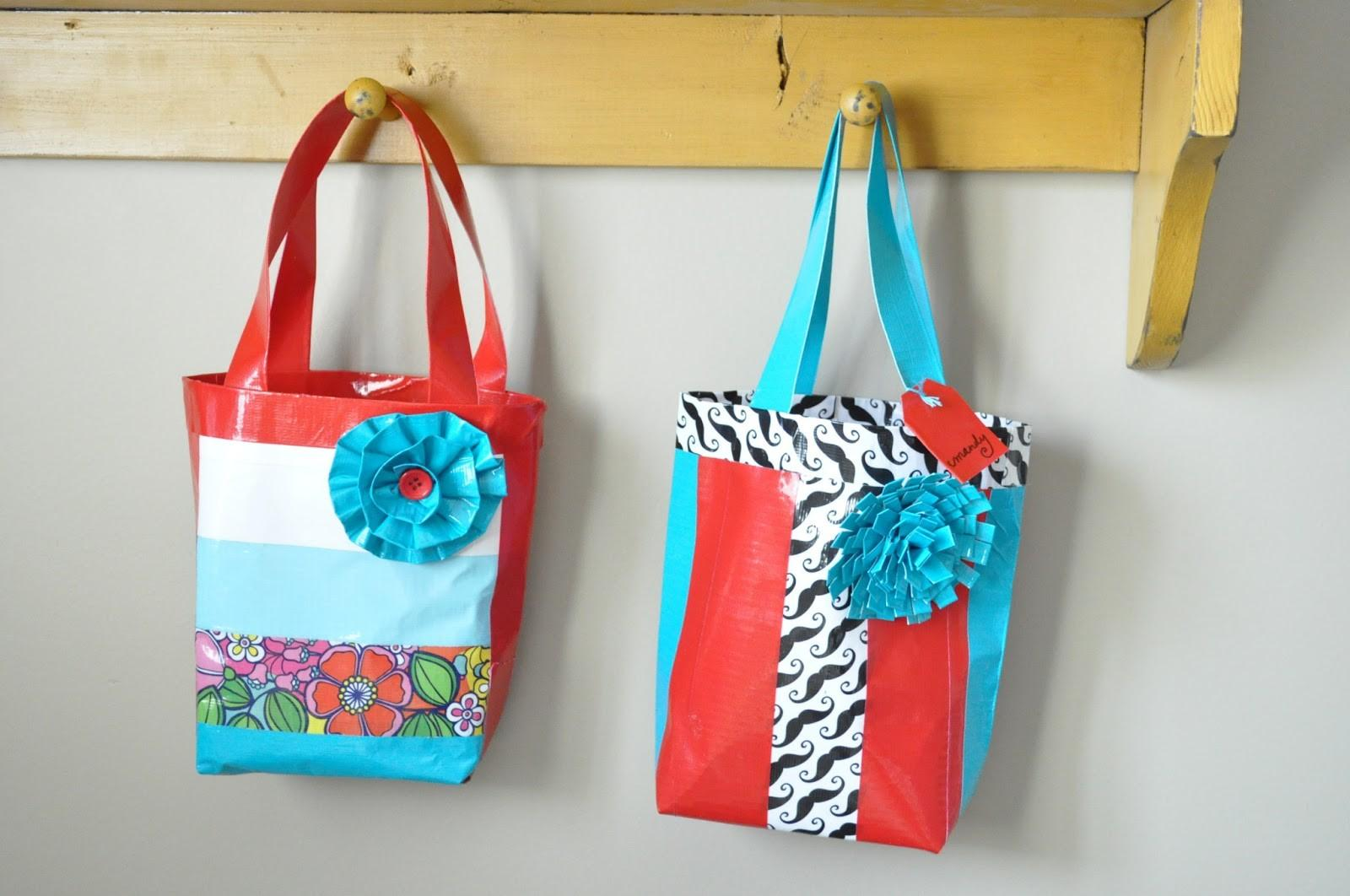 Duct Tape Purse Crafts Ideas