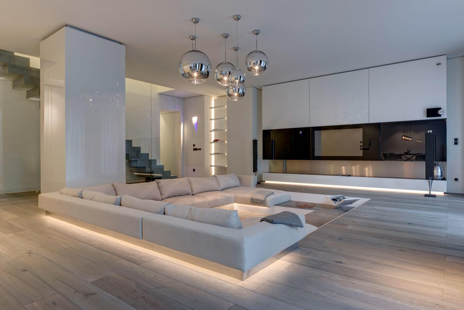 Duplex Apartment Berlin Refined Luxury Interior