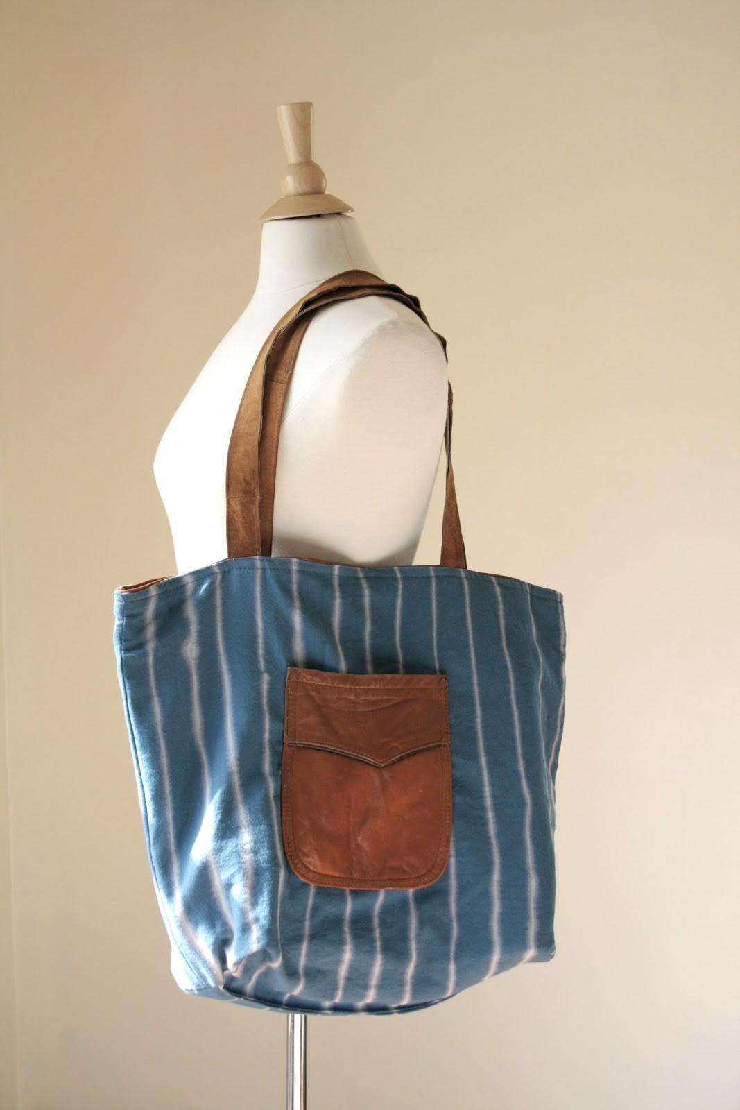Dusty Society Diy Leather Tote Bag