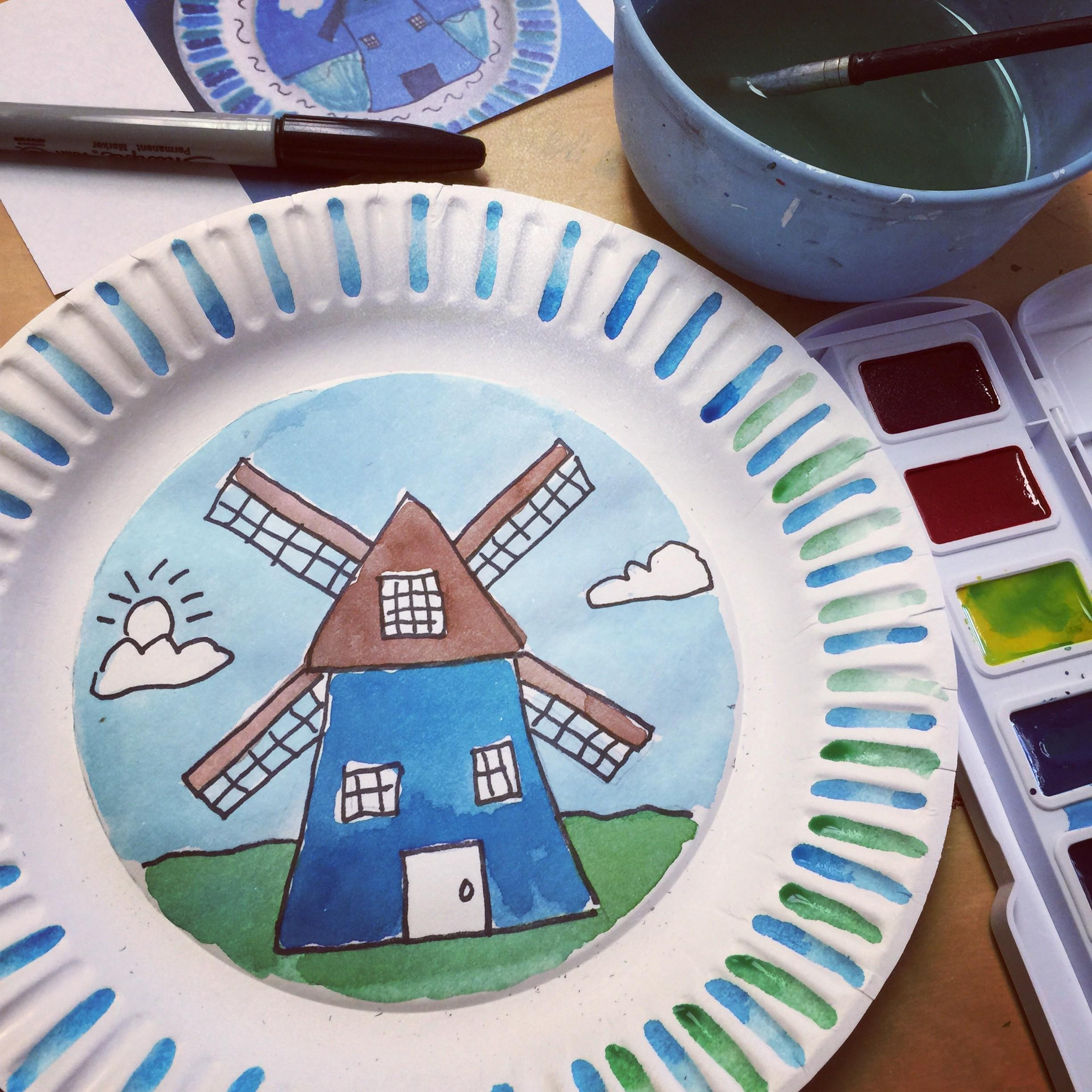 Dutch Windmills Art Projects Kids