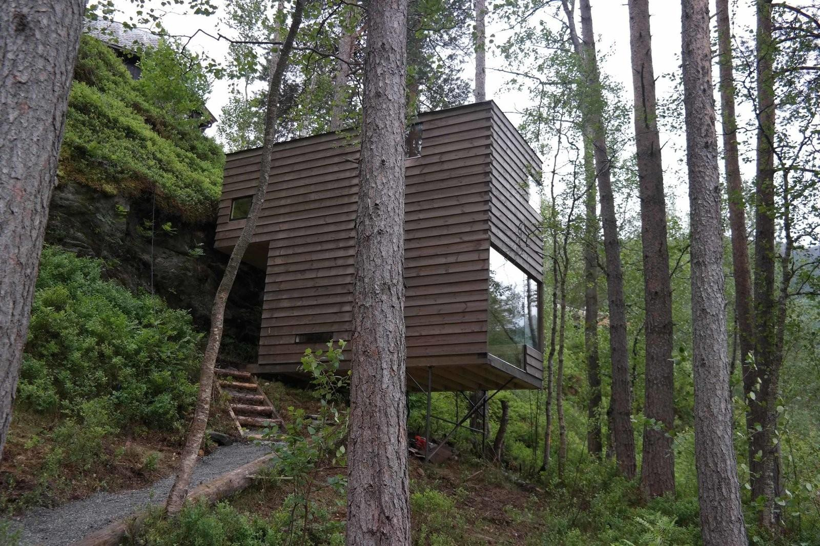 Dwell Rustic Cabins Comprise Impossibly Idyllic