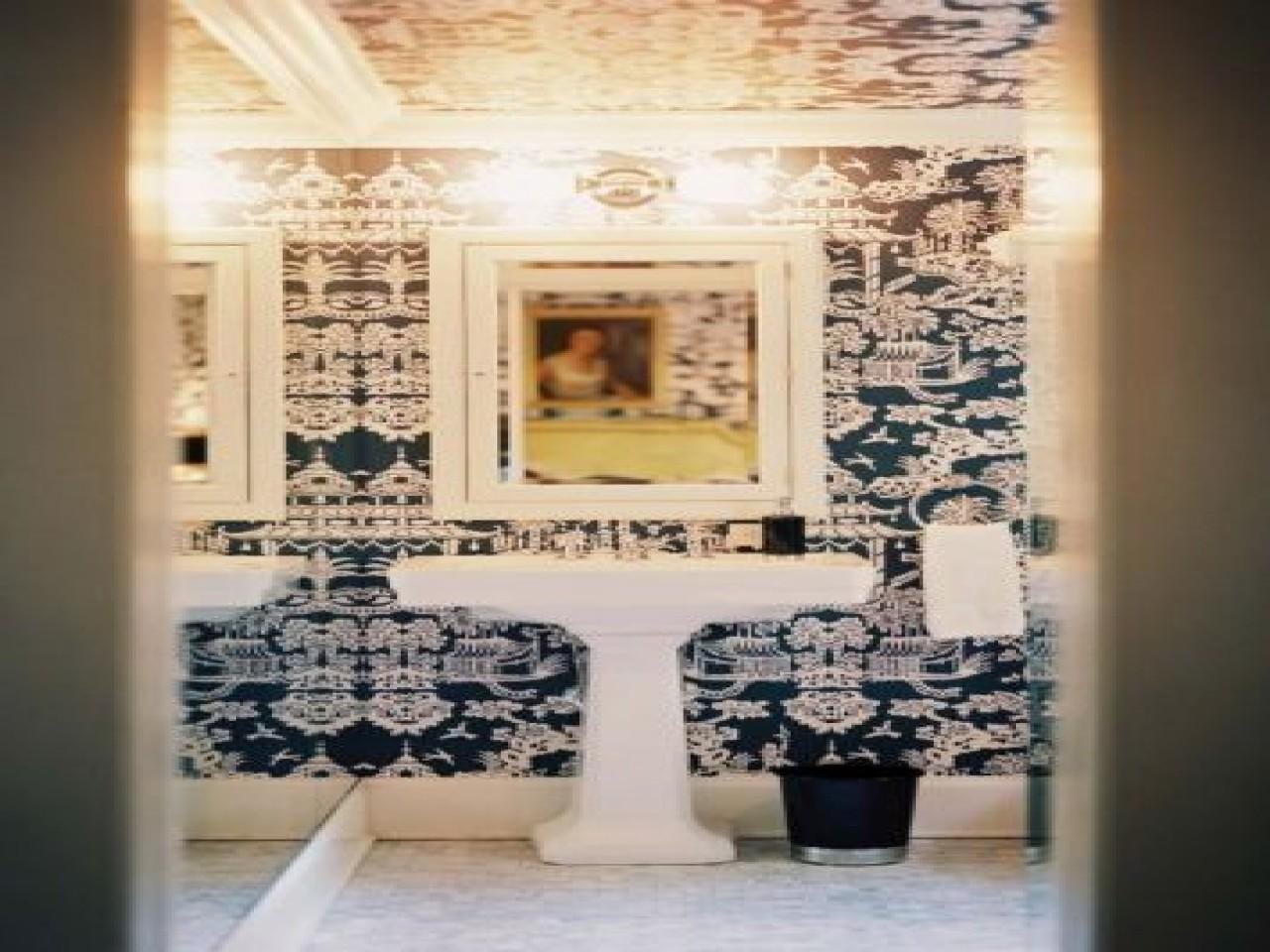 Dwellers Without Decorators Your Powder Room Now