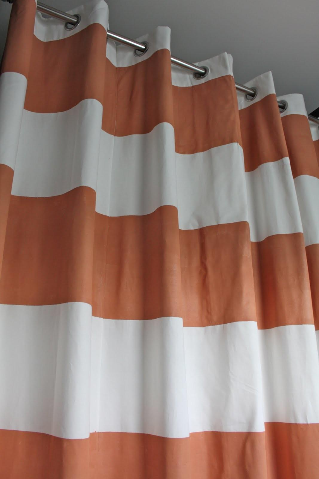 Dwellings Devore Striped Shower Curtain Diy Style