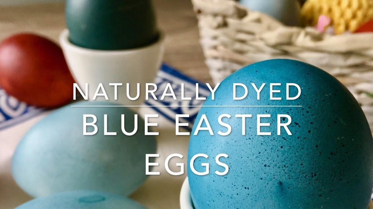 Dye Easter Eggs Red Cabbage Naturally Dyed