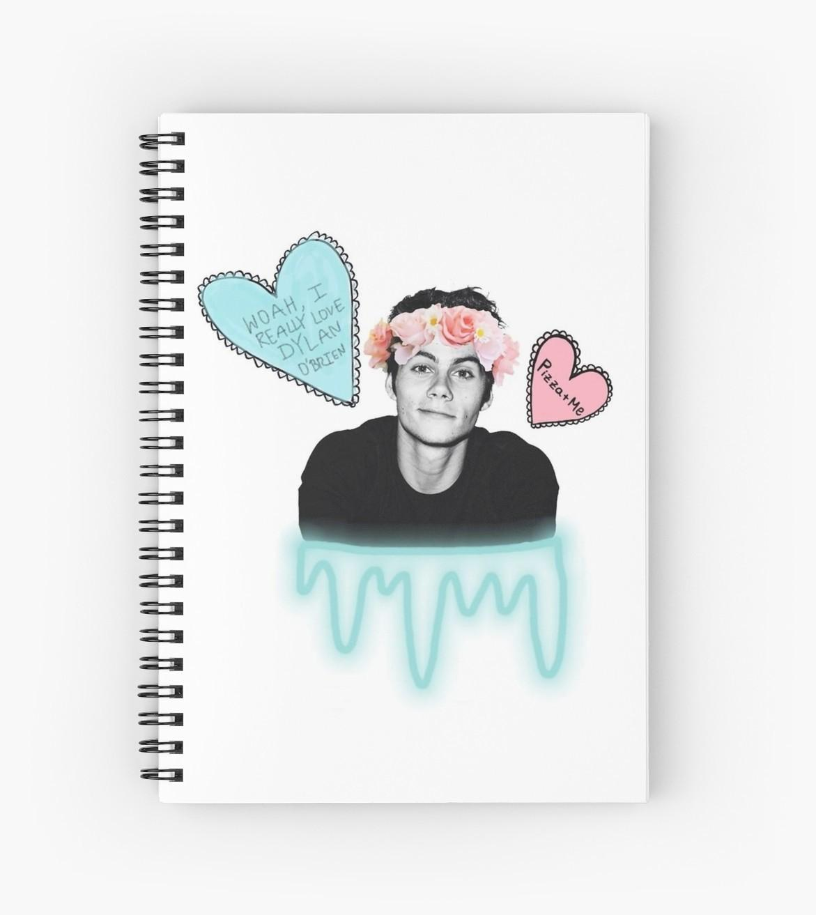 Dylan Brien Tumblr Design Spiral Notebooks