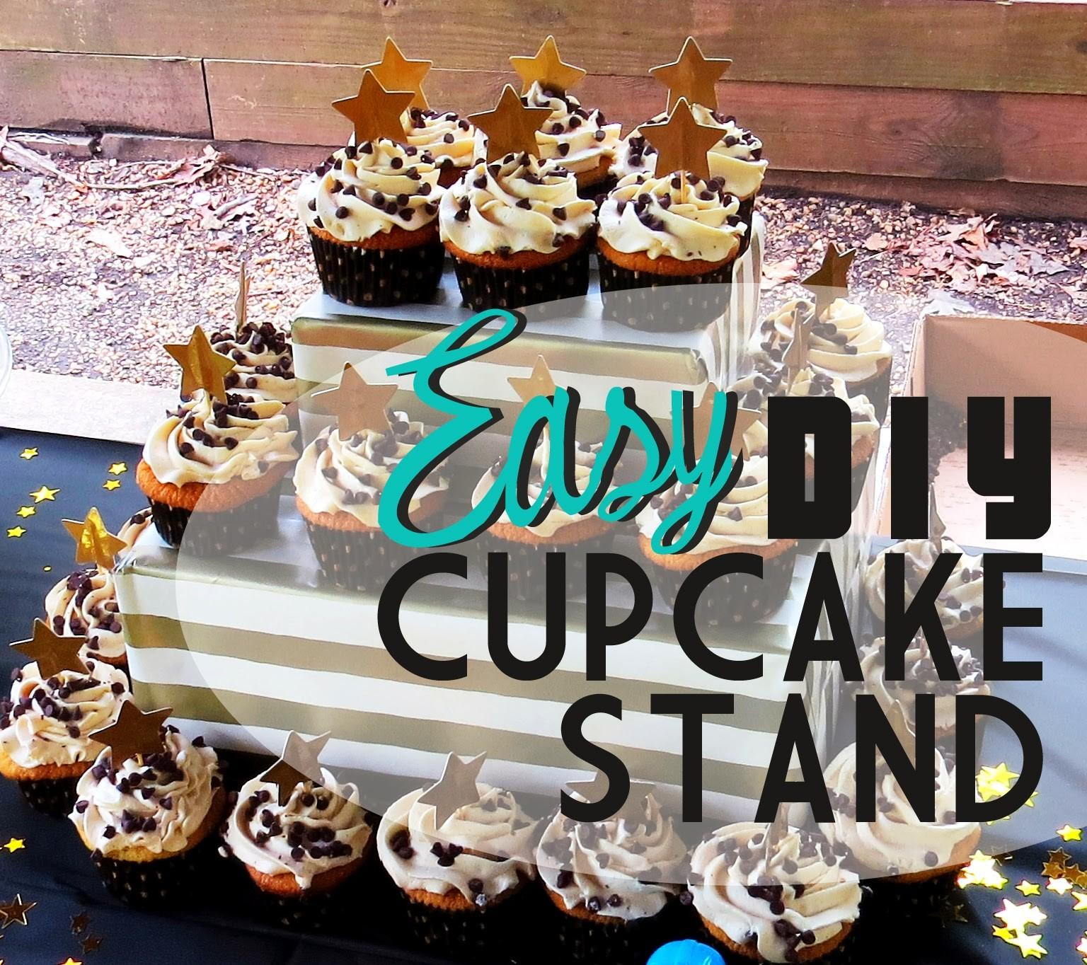 Eagals Nest Easy Diy Cupcake Stand