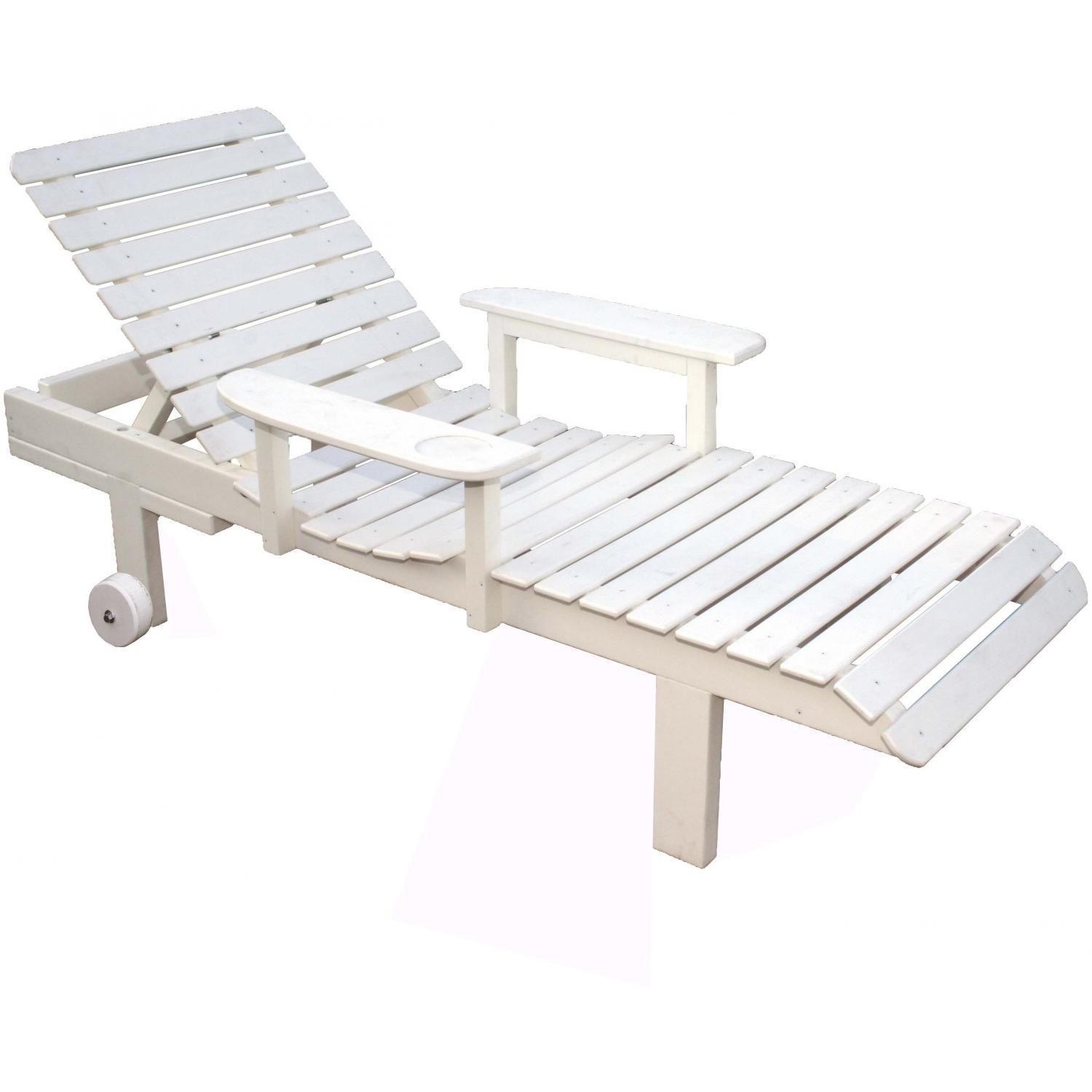 Eagle One Avalon Recycled Plastic Patio Chaise Lounge