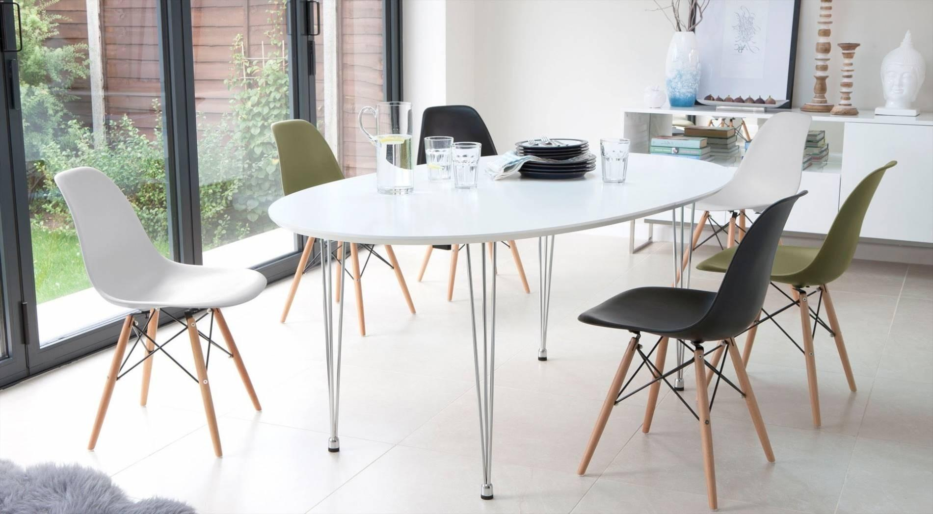 Eames Chair Dining Table