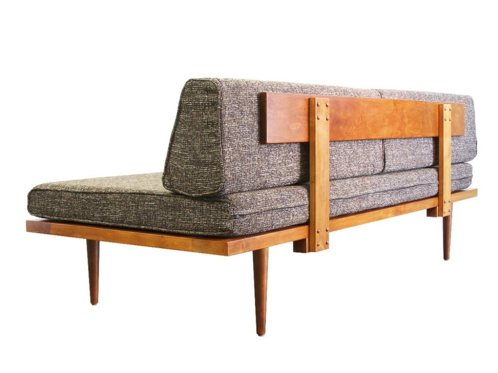 Eames Daybed Bedroom Cool Mid Century Modern Sofa Couch
