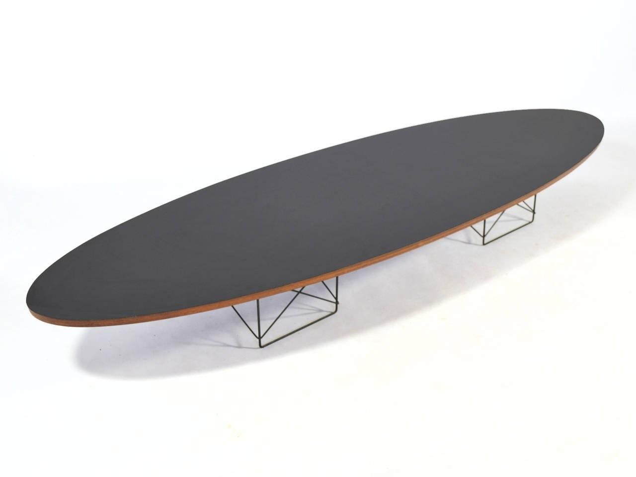Eames Etr Surfboard Coffee Table Herman Miller 1stdibs